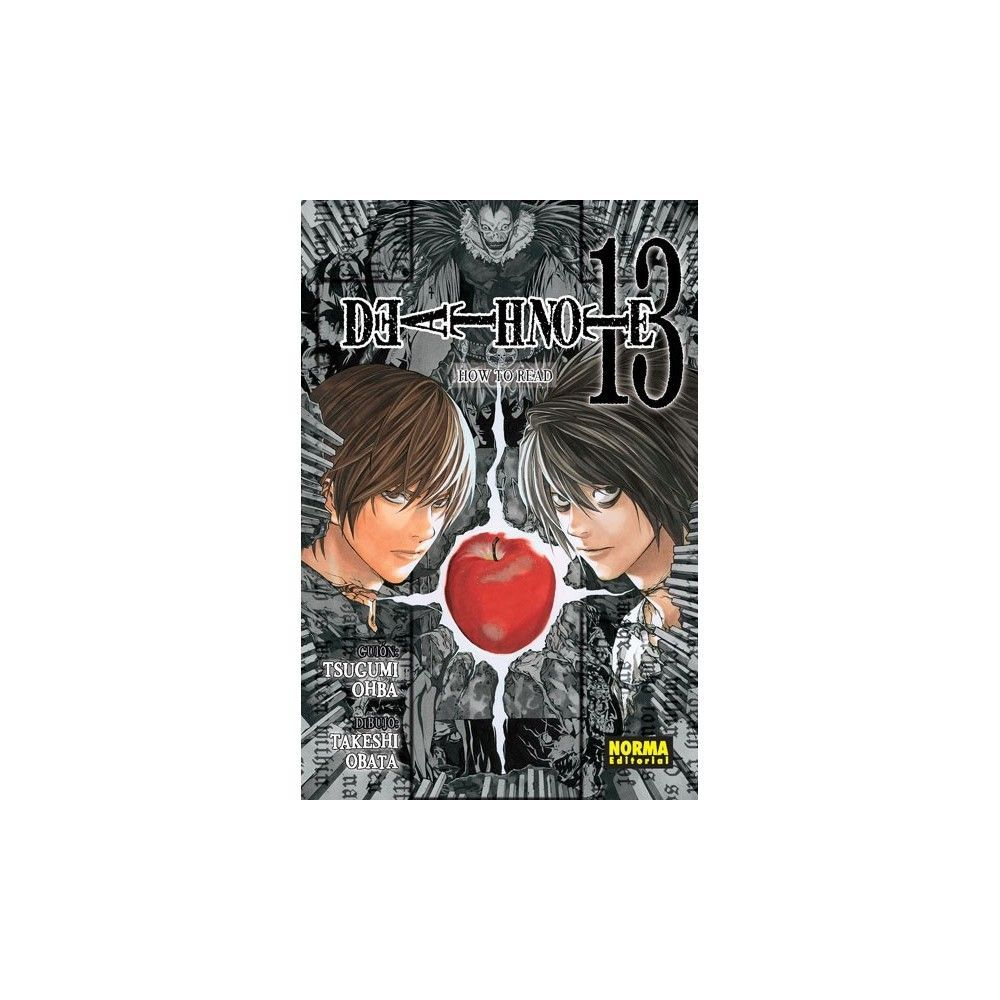 Death Note 13. How To Read Death Note. Comprar Online