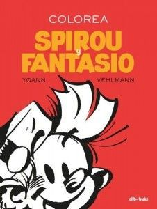 COLOREA SPIROU Y FANTASIO