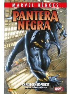MARVEL HÉROES 85: PANTERA NEGRA DE CHRISTOPHER PRIEST 01