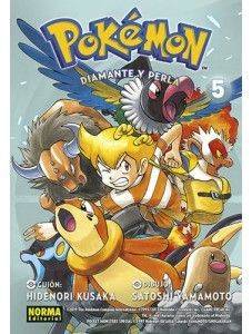 POKÉMON 21. DIAMANTE Y PERLA 05