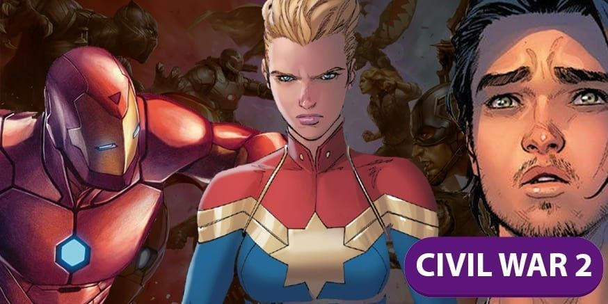 Cómics Civil war ll